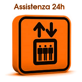 Assistenza ascensori 24 ore