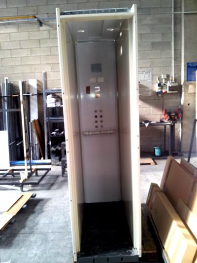 Progettazione e montaggio mini ascensori e piccoli for Piccoli piani cabina con soppalco e veranda
